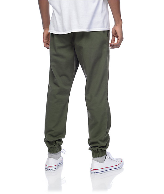 Freeworld Remy Olive Jogger Pants