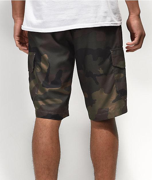 Freeworld Smashing shorts híbridos de camuflaje