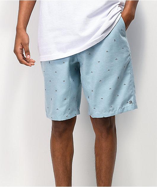 Freeworld Surfrider Blue Hybrid Shorts