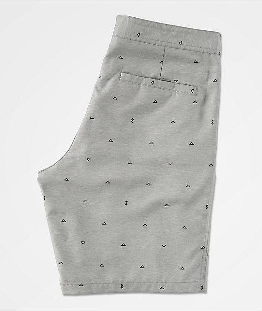 Freeworld Surfrider Light Grey Hybrid Board Shorts