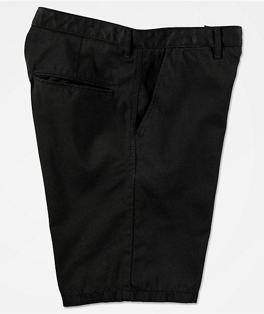 Freeworld Walker Black Chino Shorts