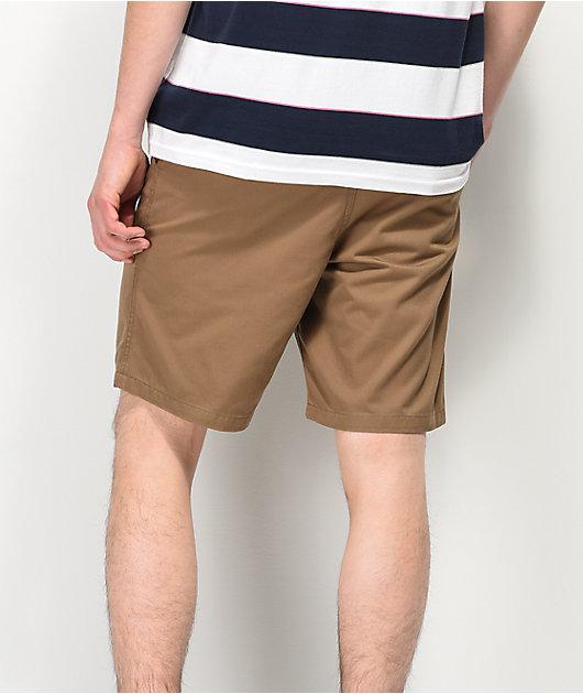 Freeworld Walker Light Khaki Chino Shorts