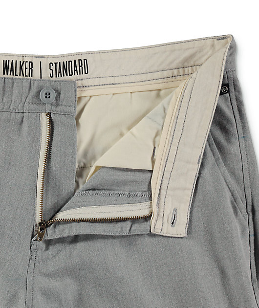 Freeworld Walker shorts chinos grises