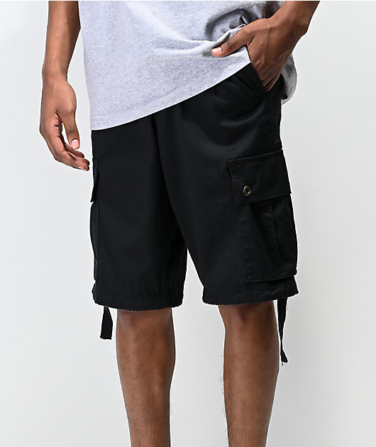 Freeworld Wreckage shorts negros