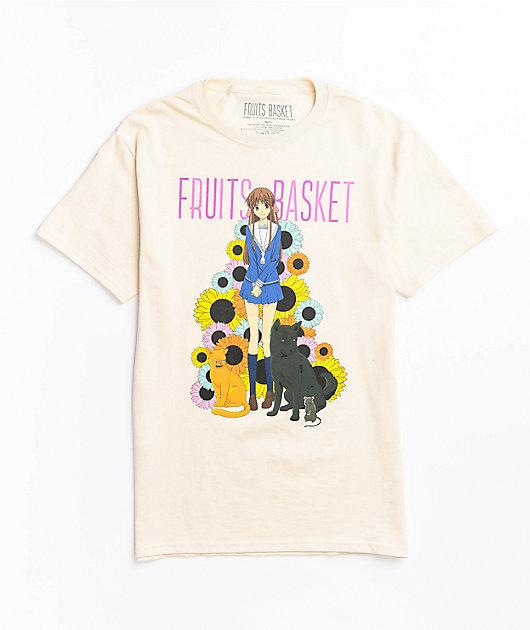 Fruits Basket Natural T-Shirt