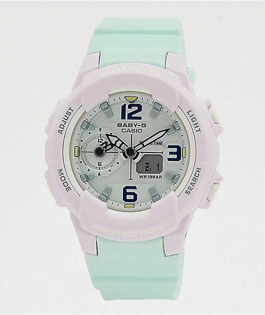 G-Shock Baby-G Mint & Lavender Digital Watch