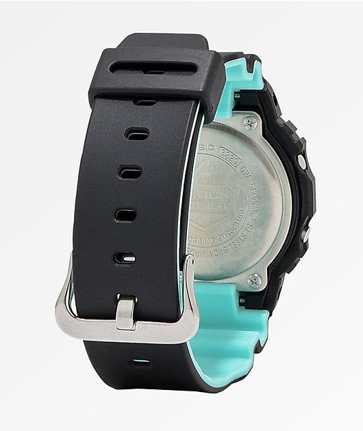 G-Shock DW5600 Retro Black, Yellow, & Blue Watch