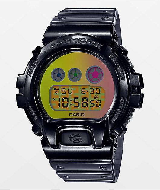 G-Shock DW6900 25th Anniversary Transparent Black Digital Watch