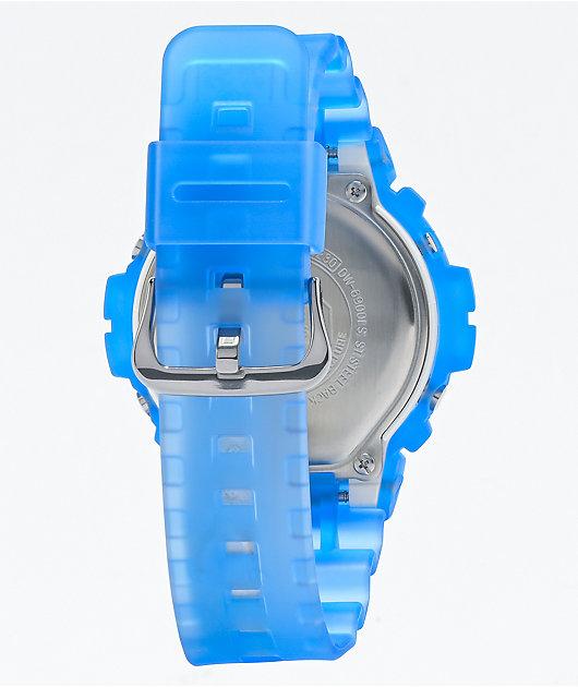 G-Shock DW6900LS-2 Translucent Blue Digital Watch