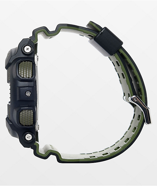 G-Shock GA-100L-1A Military Black Layered Watch