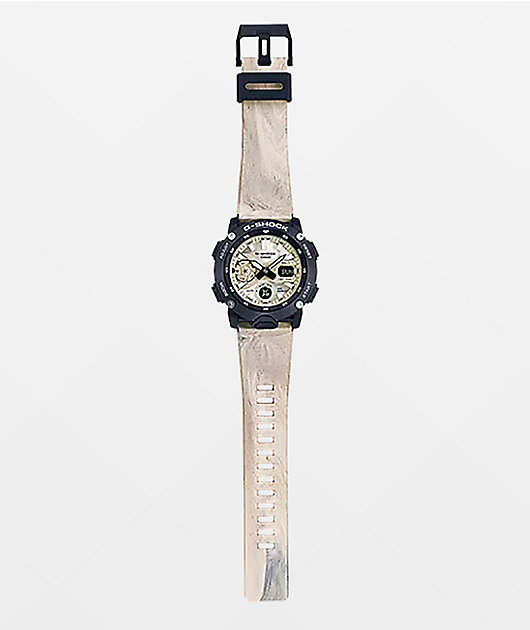G-Shock GA2000 Marble Analog Watch