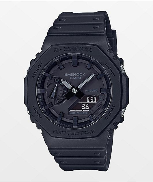 G-Shock GA2100-1A1 Carbon Black Watch