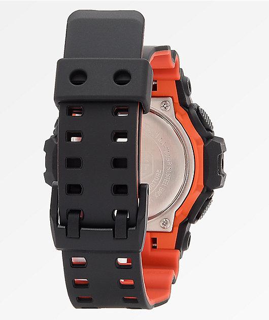 G-Shock GA700BR Black & Orange Analog-Digital Watch
