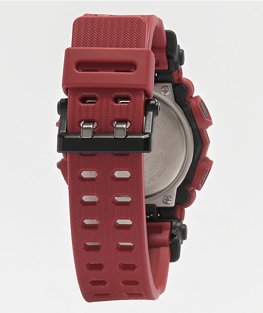 G-Shock GA900-4A Red Digital & Analog Watch