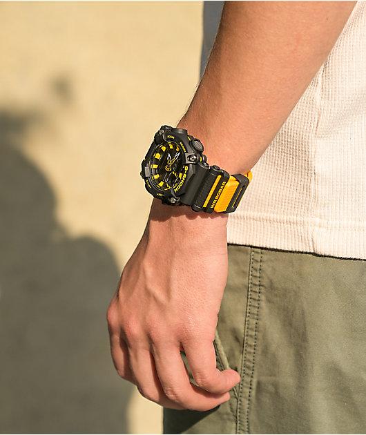 G-Shock GA900A-1A9 Black & Yellow Digital & Analog Watch