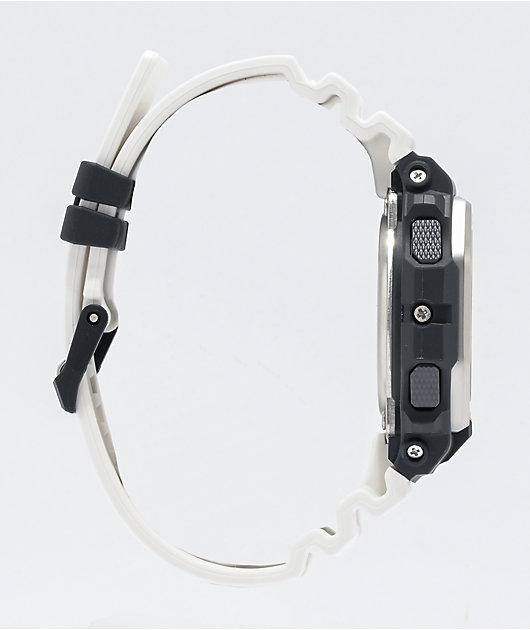 G-Shock GBX100 White & Black Digital Watch