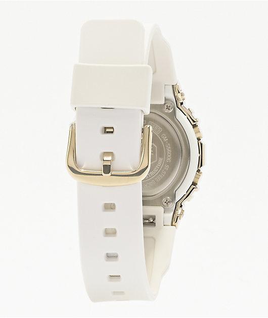 G-Shock GM-S5600G-7 White Gold Digital Watch