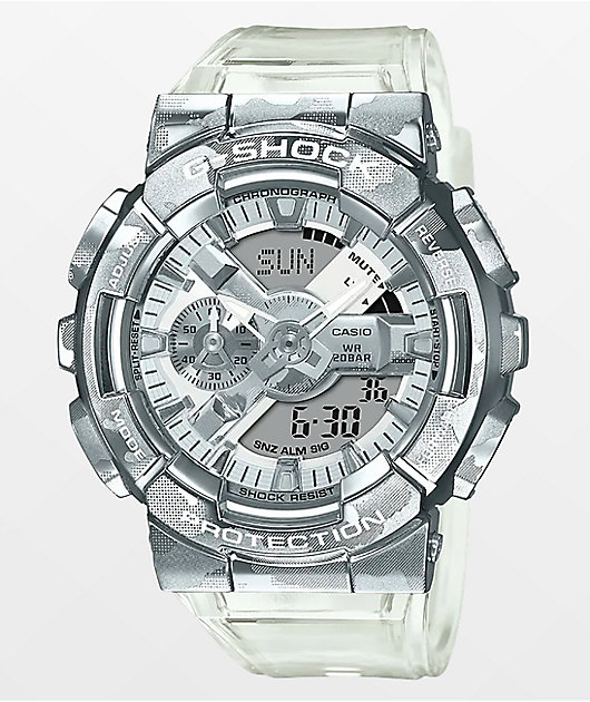 G-Shock GM110SCM-1A Clear Camo Digital Watch