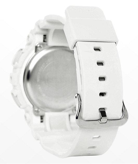 G-Shock GMAS120MF-7A2 White & Rose Gold Watch