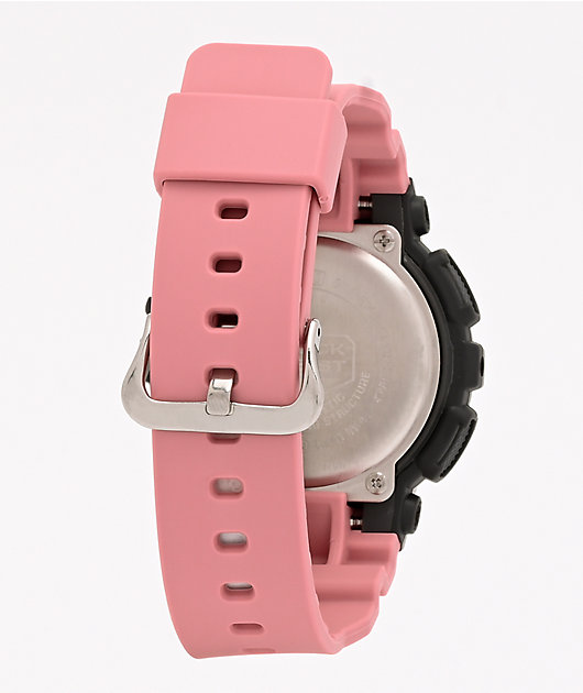 G-Shock GMAS140 Combination Rose Pink & Grey Watch