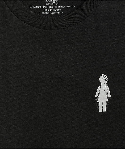 Girl Power Black T-Shirt