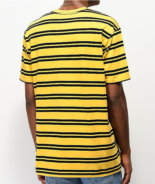 Girl Striped OG Yellow & Black T-Shirt