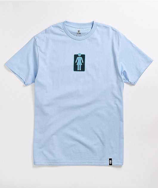 Girl Unboxed Powder Blue T-Shirt