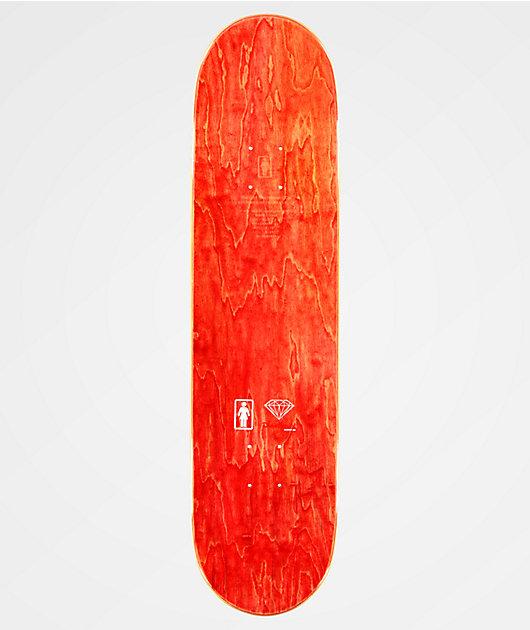 "Girl x Diamond Supply Co. Carroll 8.0"" tabla de skate"
