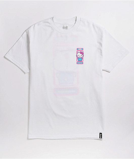 Girl x Sanrio Backside White T-Shirt