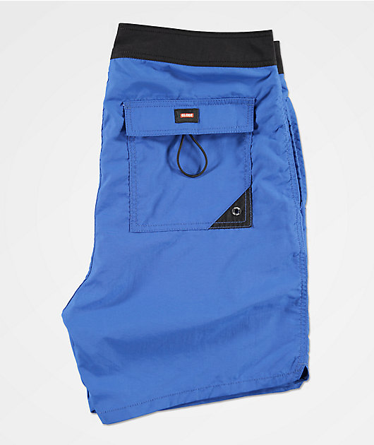 Globe Dana Blue & Black Board Shorts