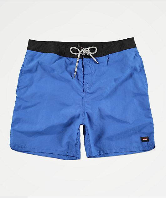 Globe Dana shorts de baño en azul y negro