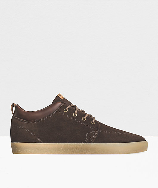 Globe GS Chukka Chocolate & Crepe Skate Shoes