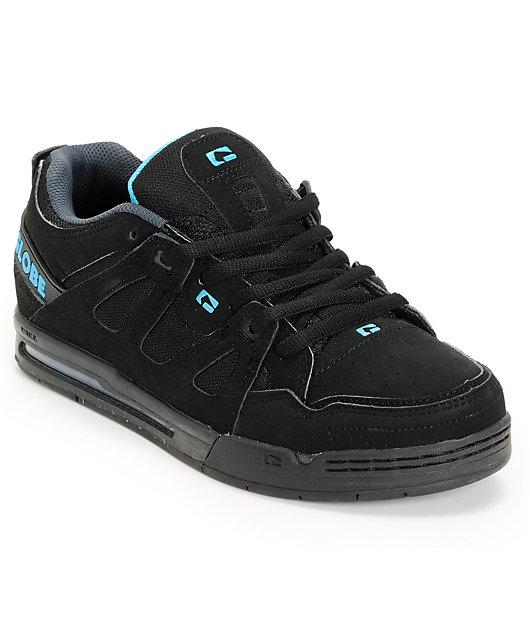 Black \u0026 Hawaiian Blue Skate Shoes | Zumiez