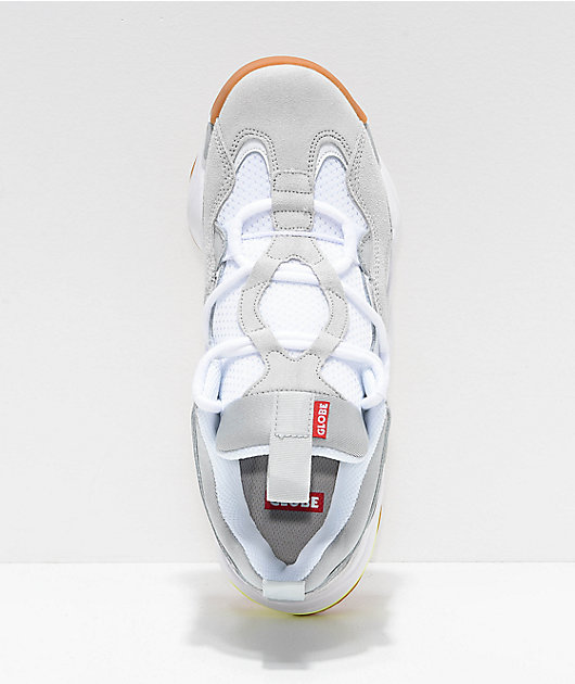 Globe Option EVO Grey & White Shoes