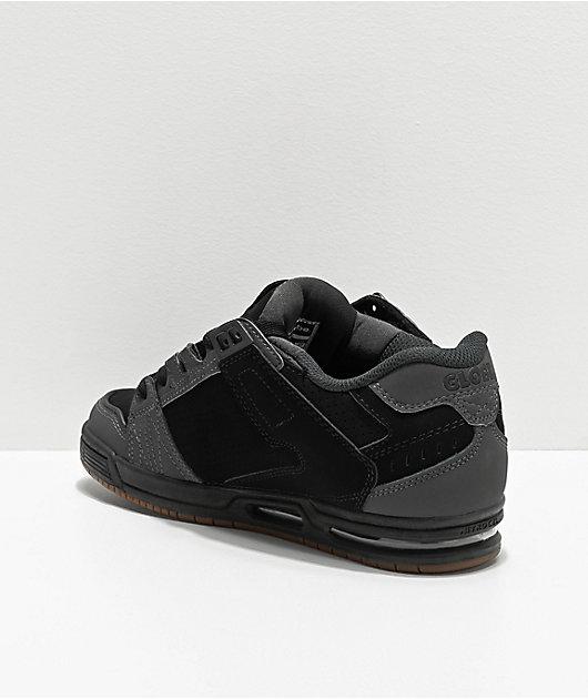 Globe Sabre Black, Night Grey & Gum Skate Shoes