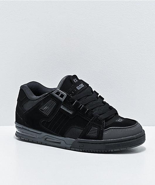 Globe Sabre Black & Graphite Skate Shoes