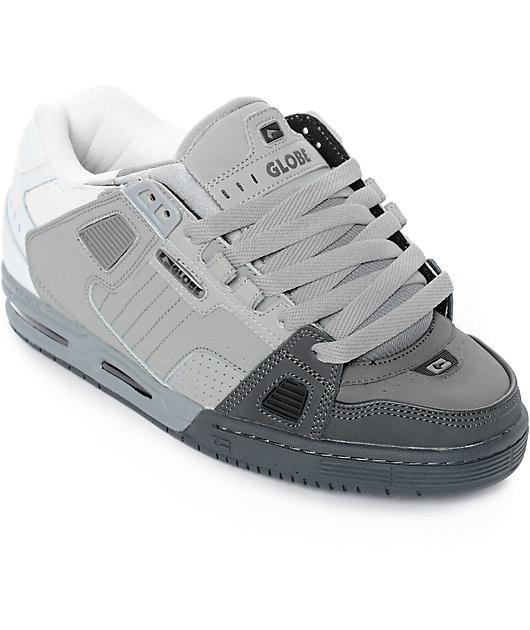 Globe Sabre Dark Grey, Grey \u0026 White