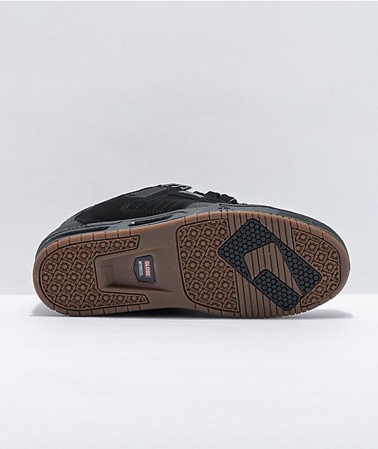 Globe Sabre Split Dark Shadow & Black Skate Shoes