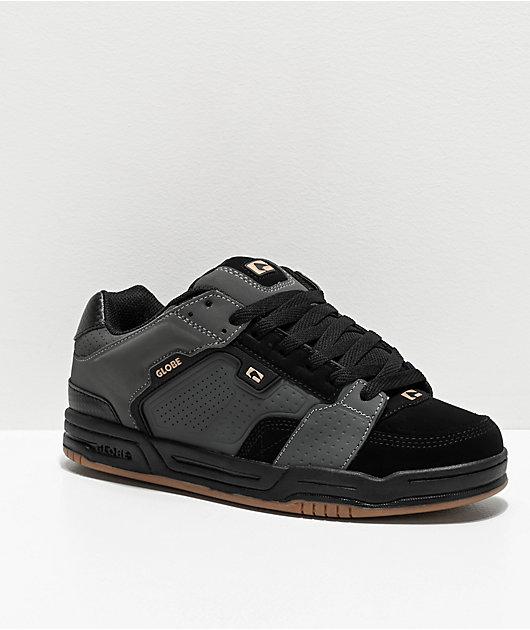 Globe Scribe Black, Dark Shadow & Gum Skate Shoes