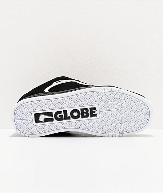 Globe Scribe zapatos de skate negros y blancos