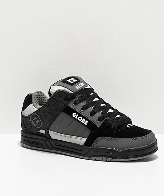 Globe Tilt Black & Grey Mix Skate Shoes