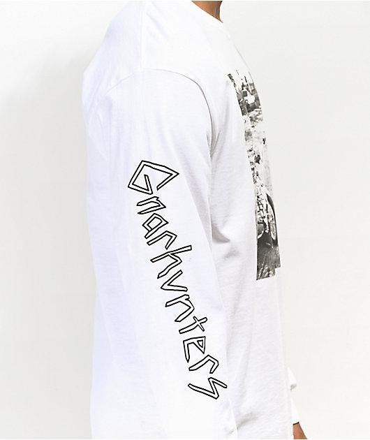 Gnarhunters Begging To Be Rad White Long Sleeve T-Shirt