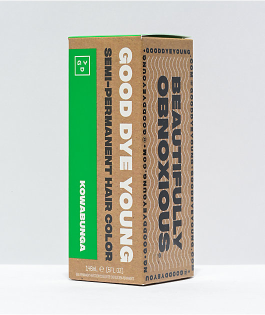 Good Dye Young Kowabunga Green Semi Permanent Hair Dye