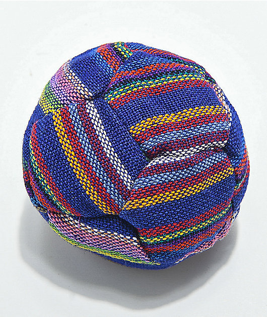 Guatamalart Multicolored Blue Hacky Sack