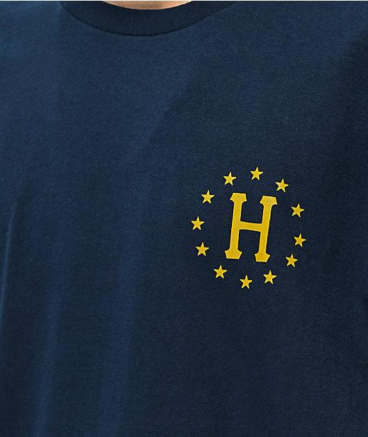 HUF 12 Nations Navy T-Shirt
