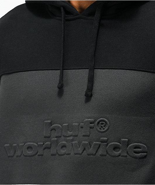 HUF Division Black, Charcoal & Grey Hoodie