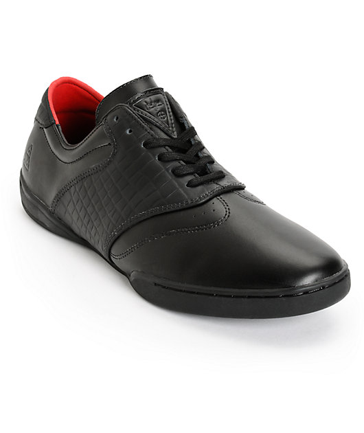 HUF Dylan Leather Croc Skate Shoes | Zumiez