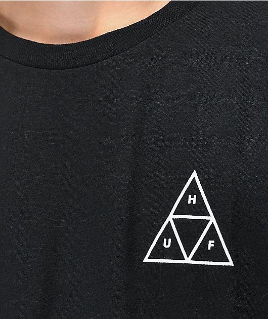 HUF Dystopia Black T-Shirt