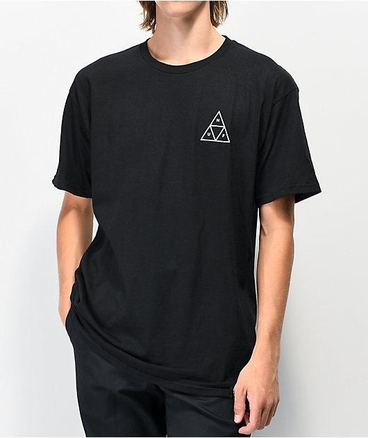 HUF Dystopia camiseta negra