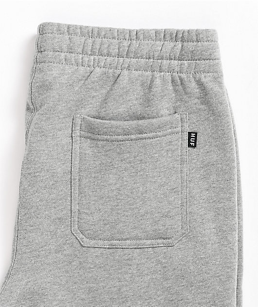 HUF Essentials Grey Fleece Sweatpants